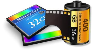 Film or digital - graphic