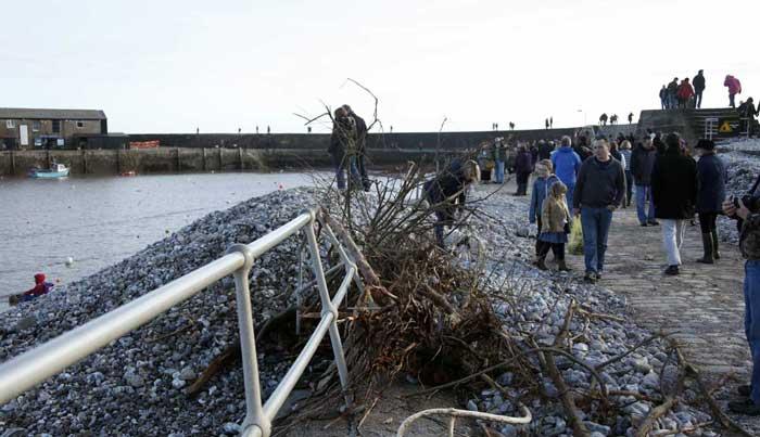 lyme-harbour-storm-damage