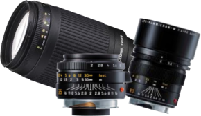 camera lenses - image